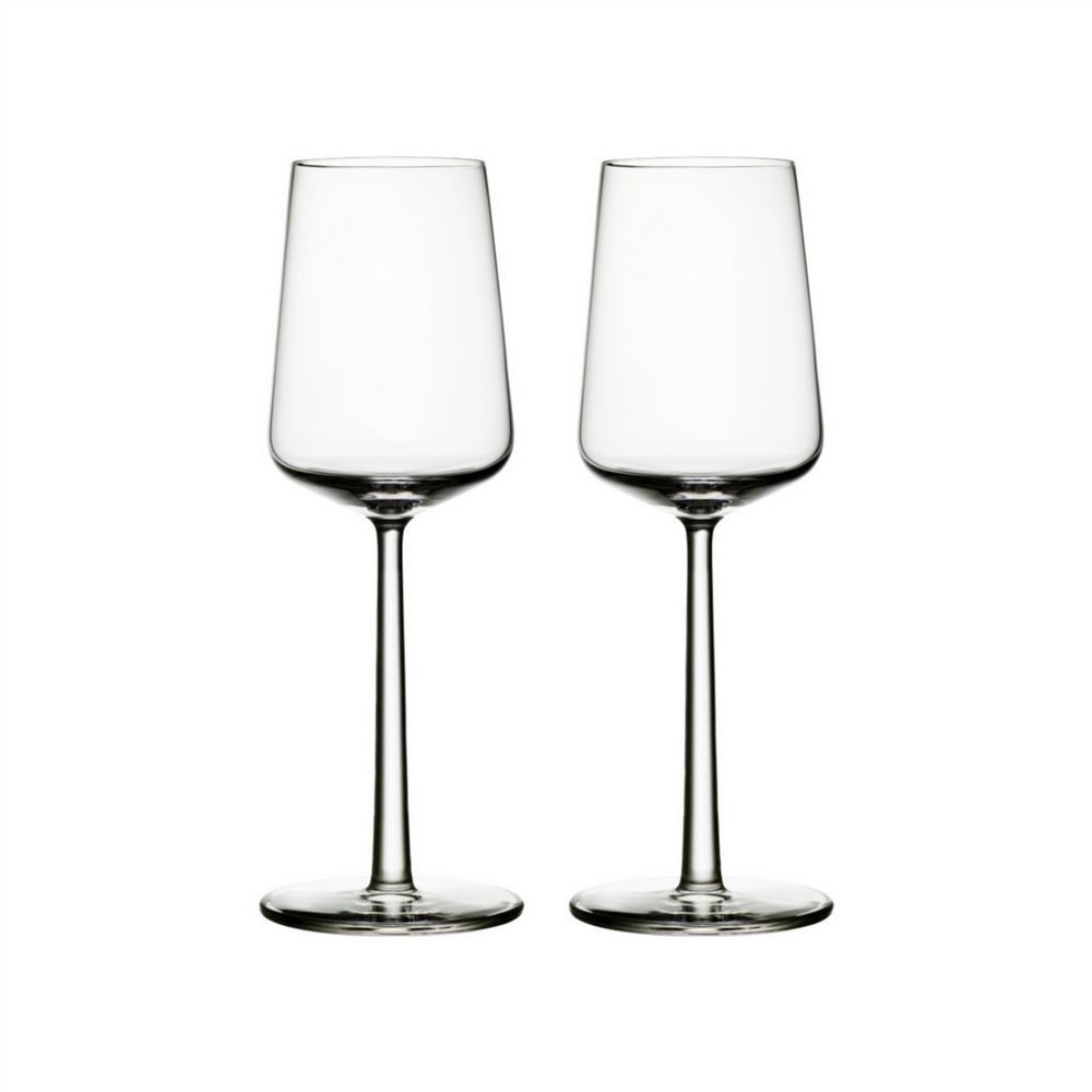 Iittala - White Wine Glasses - 33 cl -  Set of 2